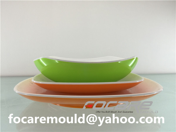 multi coloured mold china