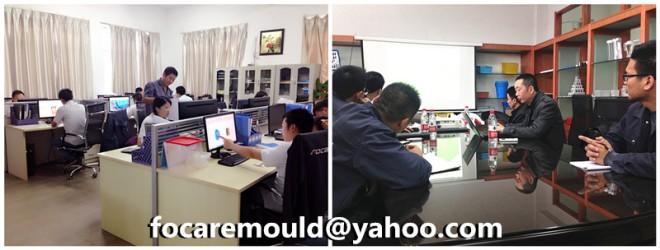 injection mold maker China mould design