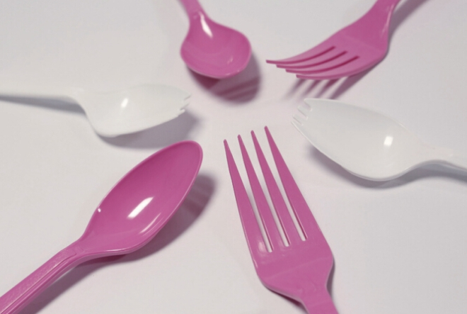 disposable spoon mold fork mold