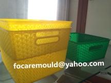rattan design basket mold