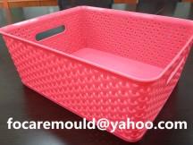 rattan design basket molds