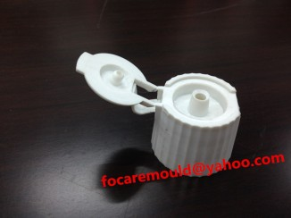 flip top closure mold