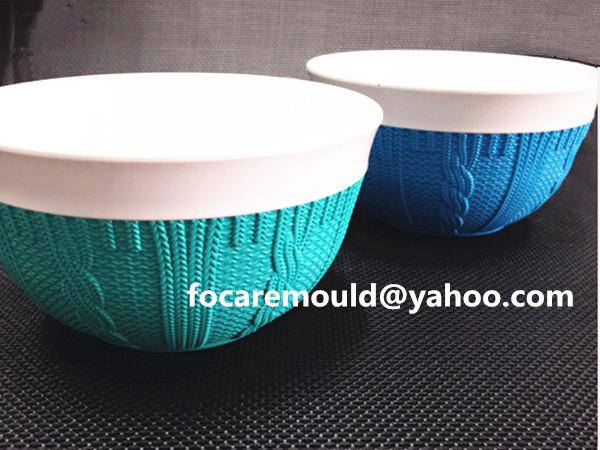 China rotational mold multi color plastic kitchenwares