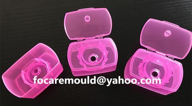 China flip top cap mold design